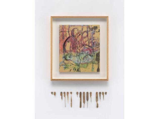 Uri Aran, BD 59.1 x 52.7 x 5.1 cm courtesy of the artist and Sadie Coles HQ, London