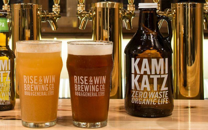 Rise & Win Brewing kamikatz