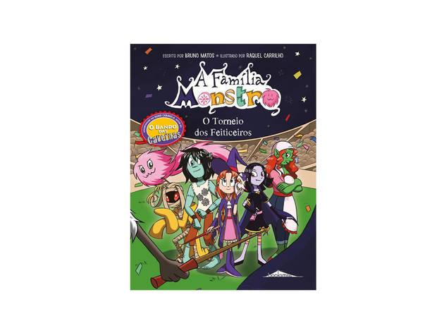 Livro, Infanto-juvenil, A Família Monstro, Bruno Matos
