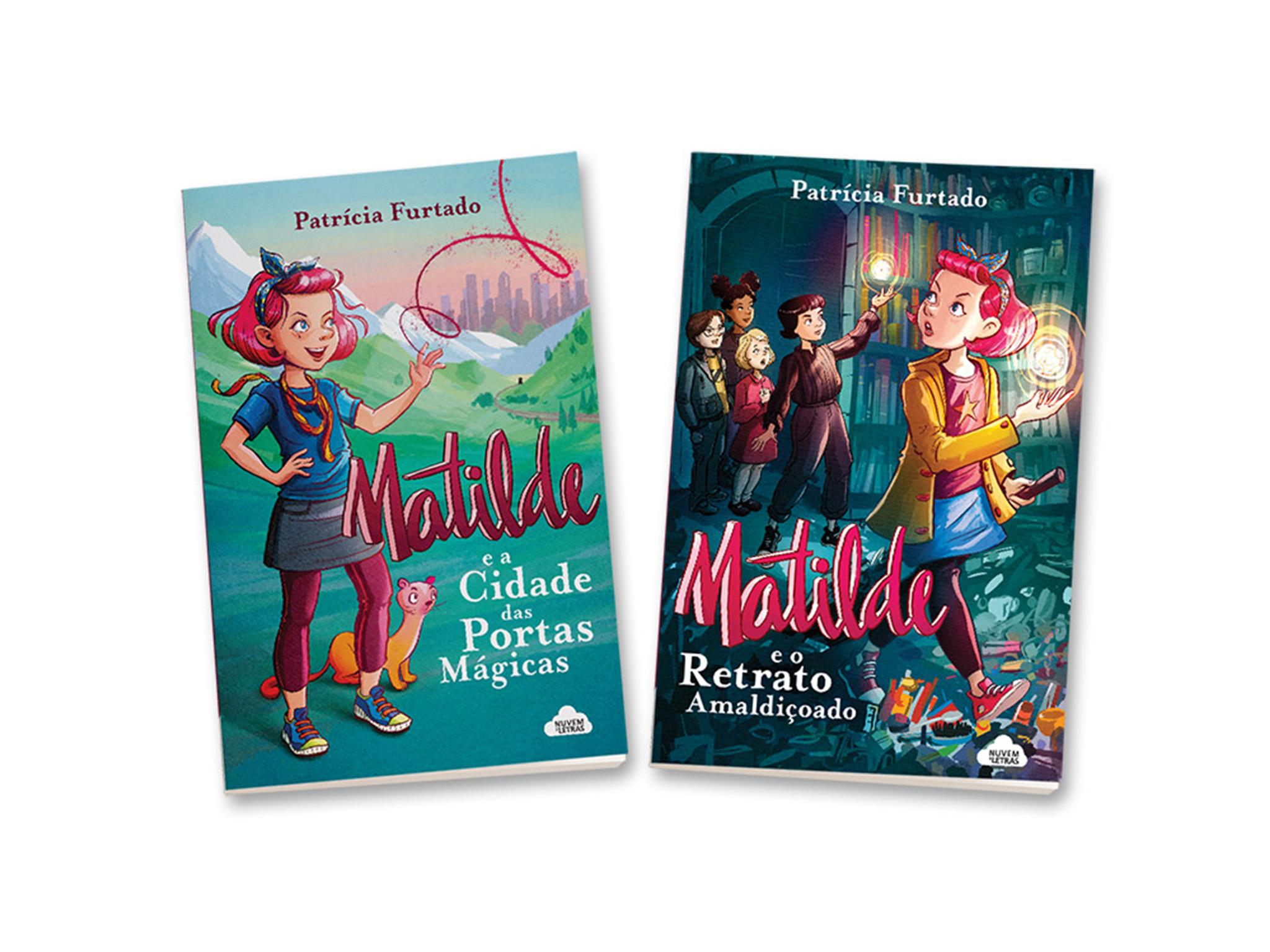 Livro, Matilde e a cidade das portas mágicas, Patrícia Furtado