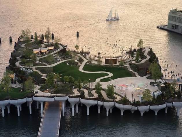Little Island at Pier 55