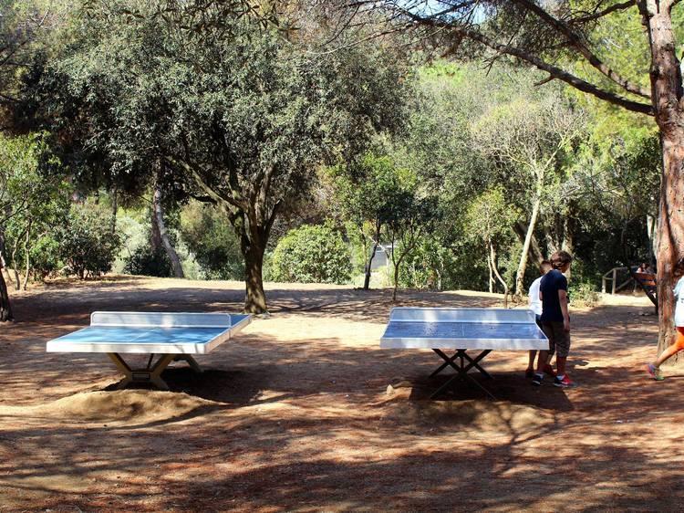 Ping-Pong en el parque de la Oreneta