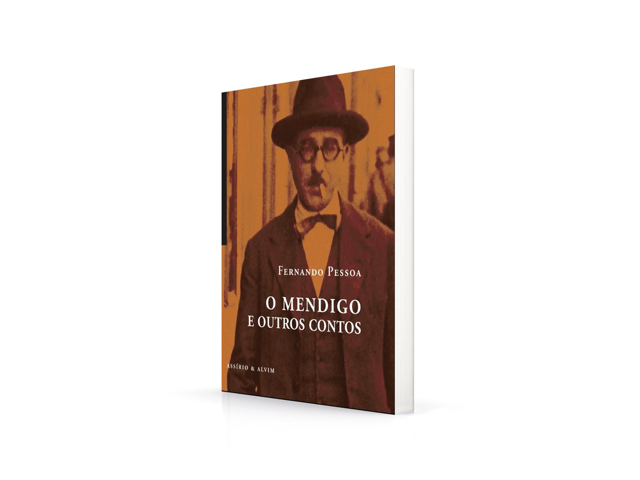 Livro, O Mendigo e Outros Contos, Fernando Fessoa