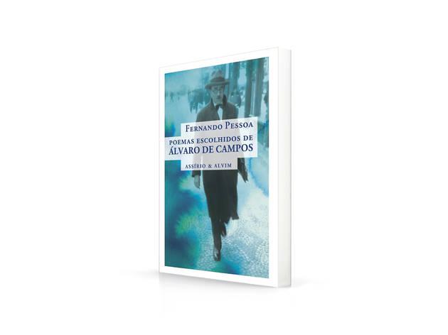 Livros, Poemas Escolhidos de Álvaro de Campos, Fernando Pessoa