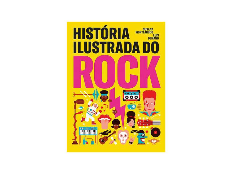 Livro História Ilustrada do Rock