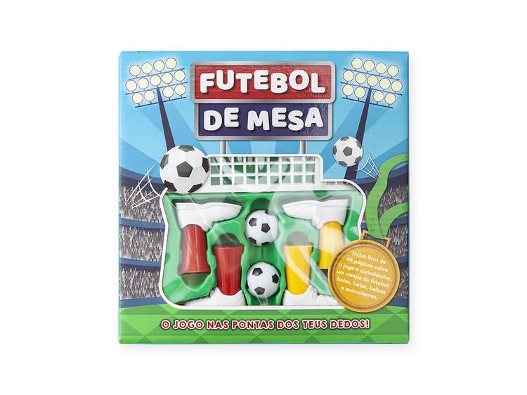 Livro-jogo Futebol de Mesa