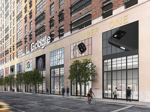 The first-ever Google retail store is opening in Chelsea this summer