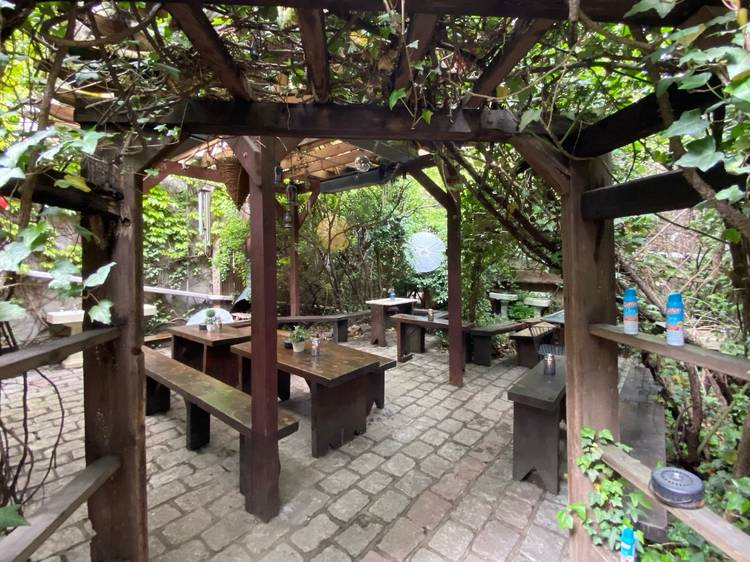 A new secret backyard garden in Williamsburg