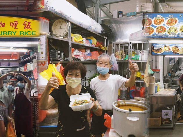 How to support heritage and elderly hawkers during this period