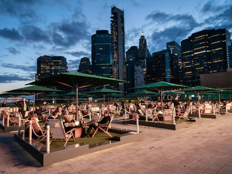 See movies atop Pier 17's rooftop
