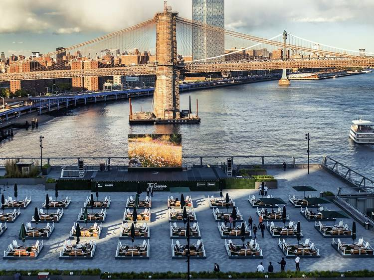 """Rent a """"backyard"""" on the waterfront at Pier 17"""