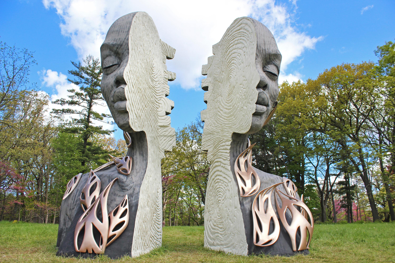 Morton Arboretum Human+Nature exhibition
