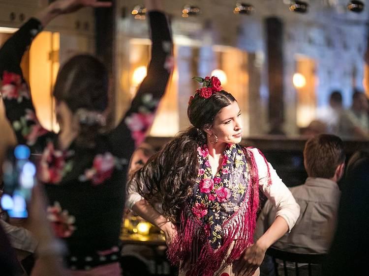 Flamenco at Socarrat Paella Bar Nolita