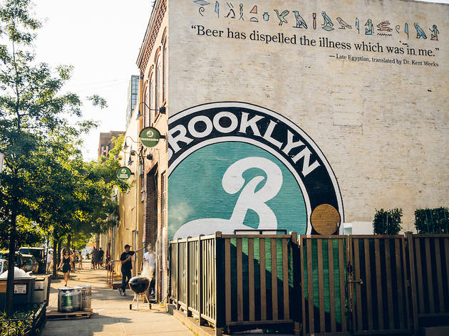 Swag and tastings from Brooklyn Brewery