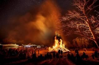 Burning of the Barrel at Glandore Estate
