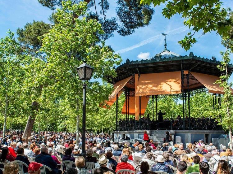 Conciertos de verano al parque de El Retiro