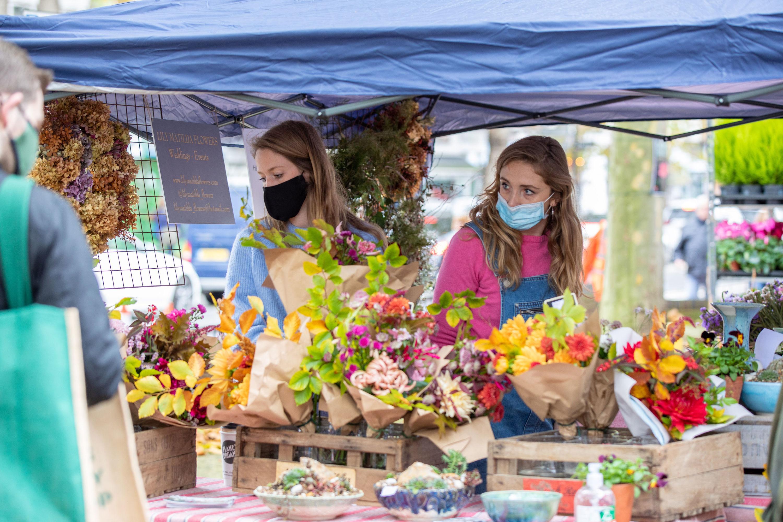 Chiswick Flower Market Nov 2020