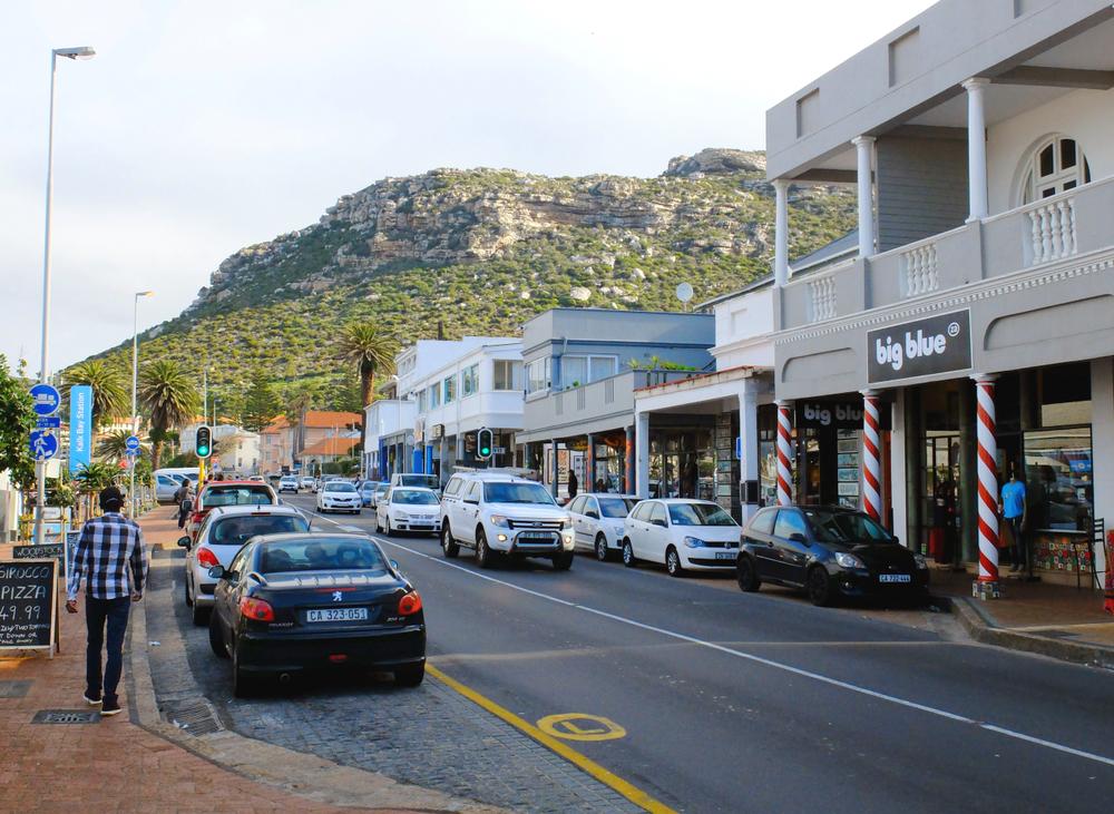 Main Road in Kalk Bay, Cape Town