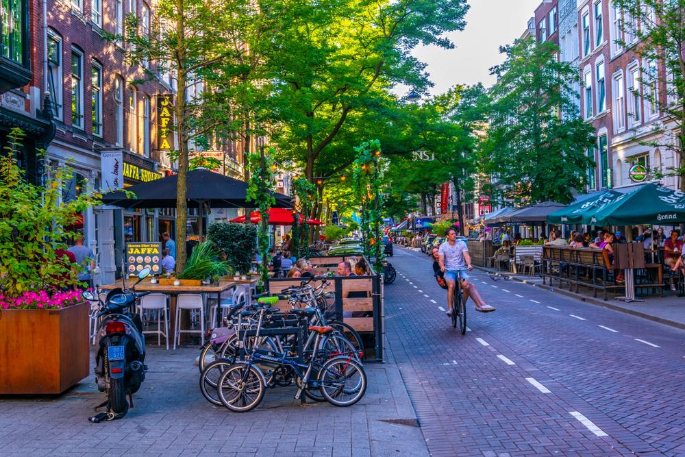 Witte de Withstraat in Rotterdam