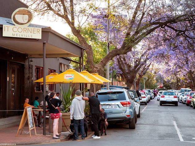 7th Street in Melville, Johannesburg