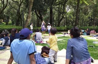 Mis pininos en Los Pinos (Foto: Cortesía Secretaría de Cultura)