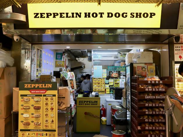 tai on house zeppelin hot dog shop