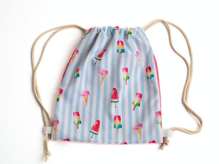 Ice Cream beach bag, Meia Pata