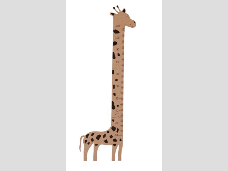 Régua girafa, CRU