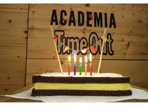 Academia Time Out – Festas de Aniversário