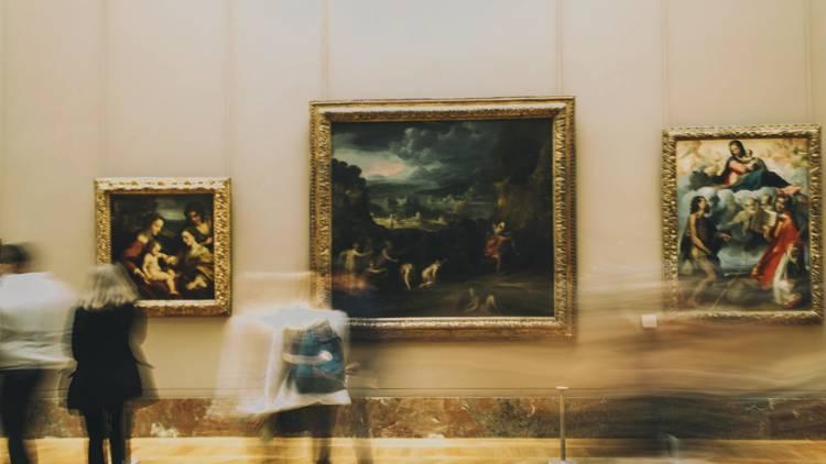 Louvre sur Unsplash - © Diogo Fagundes