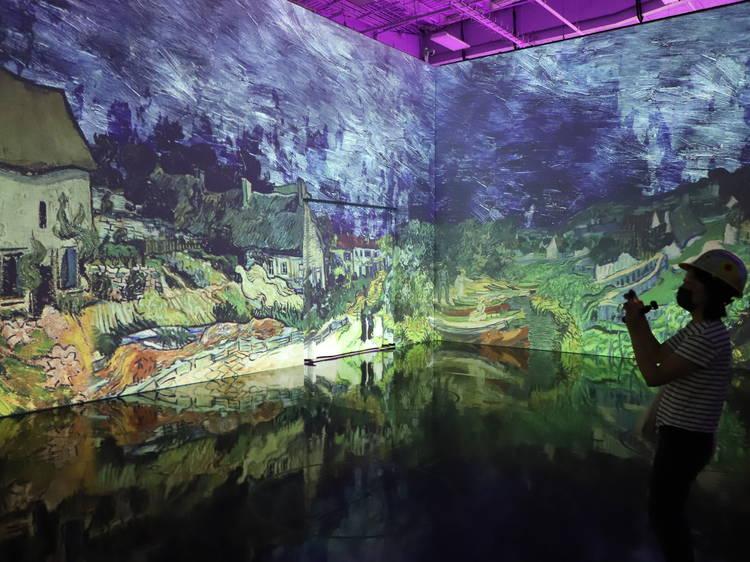 See the hot Immersive Van Gogh exhibit
