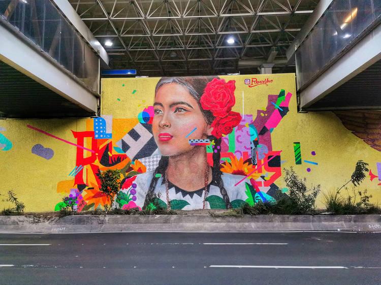 Tour por el centro, pero en bici y de street art