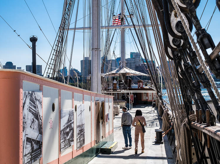 Free entry and exhibit aboard 1885 Tall Ship Wavertree