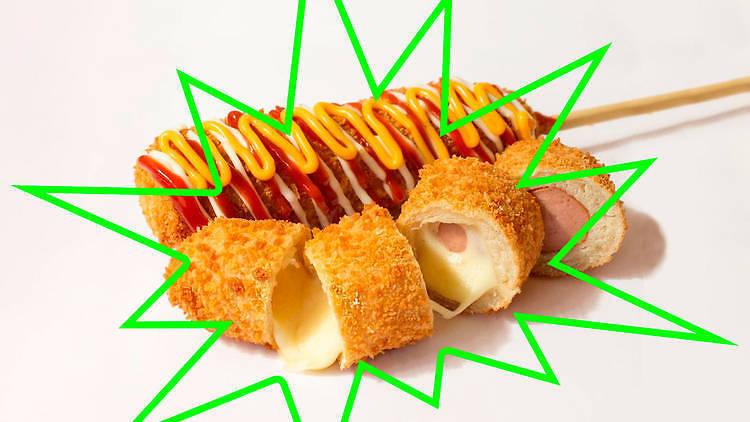 Bunsik corndogs