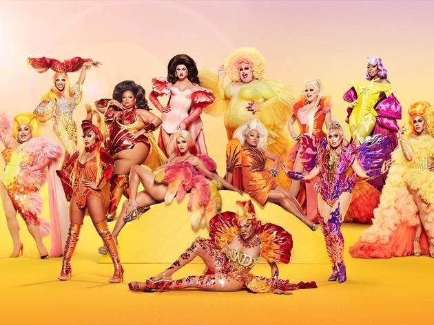The full cast of Ru Paul's Drag Race All Stars 6