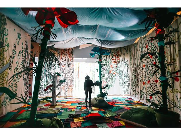 CCB, As Aventuras de Alice no País das Maravilhas, Fábrica das Artes, instalação imersiva