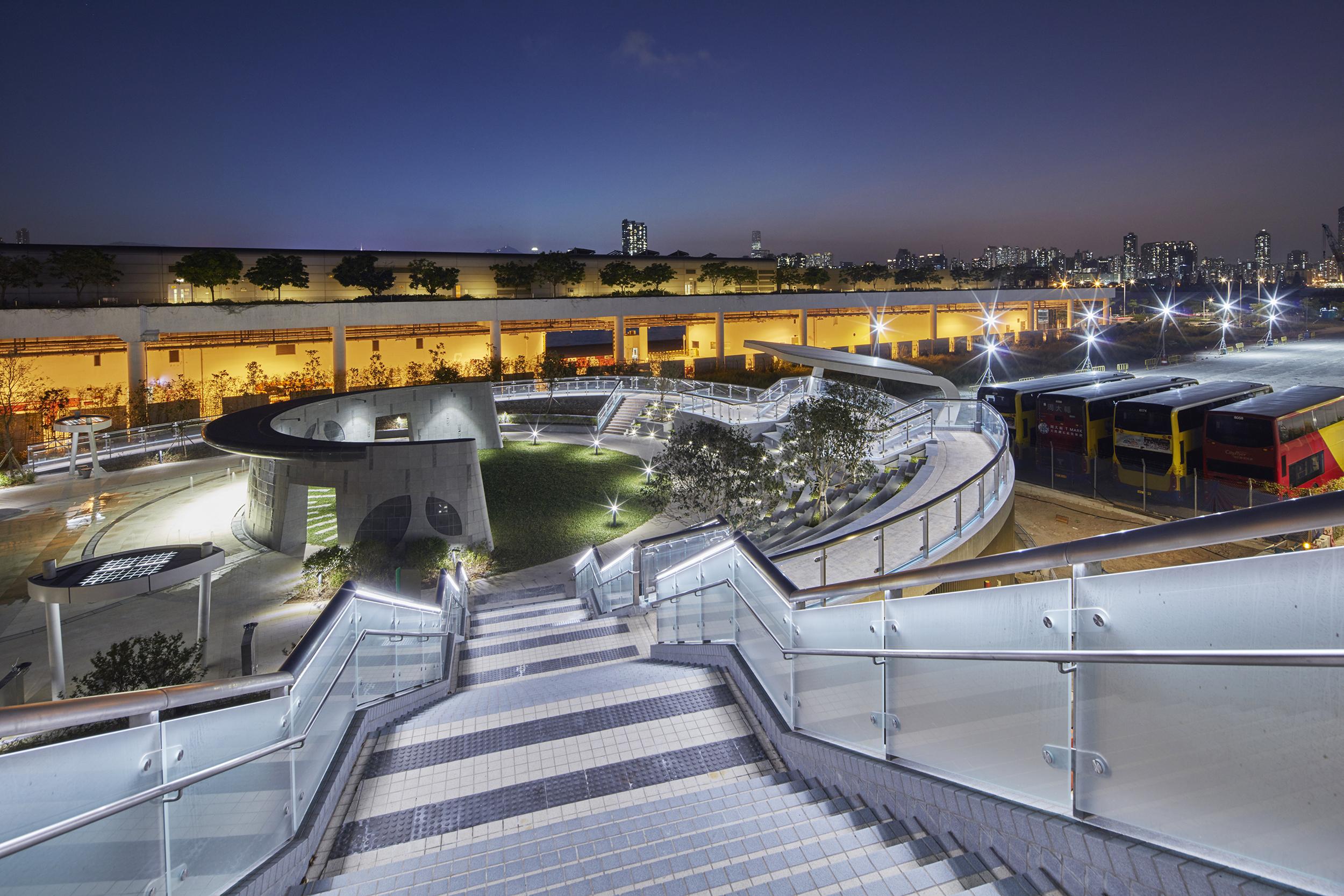 香港賞月必到海濱長廊
