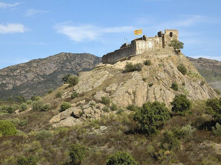 Castillo de Quermançó (Vilajuïga)