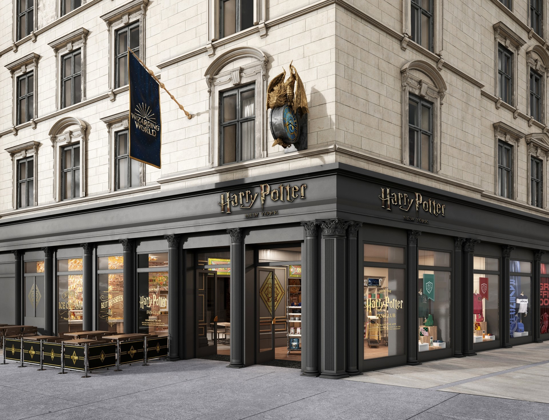 Harry Potter flagship store NYC
