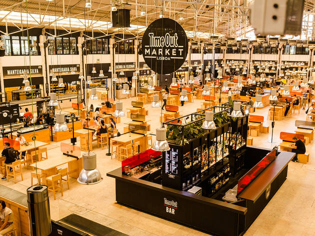 Time Out Market Lisbon has officially reopened