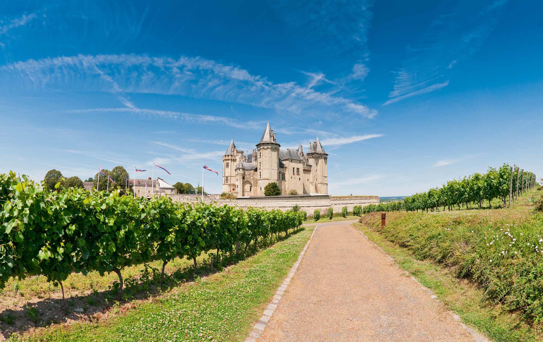 Chateau de Saumur, Loire Valley, France