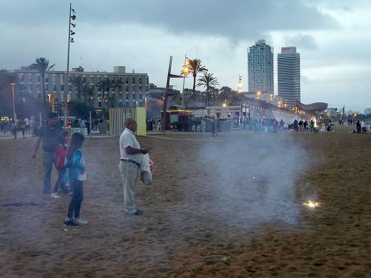 Les platges de Barcelona estaran obertes per la revetlla de Sant Joan 2021