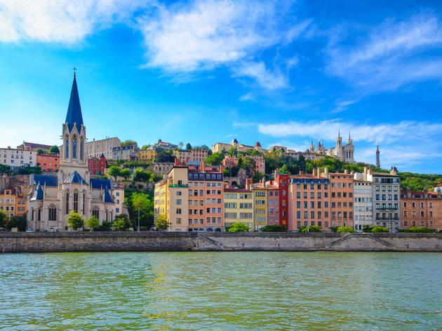 Vieux Lyon et Fourvière  © Martin Shutterstock