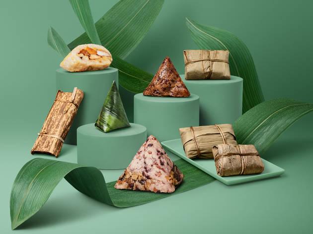 Resorts World Sentosa rice dumplings