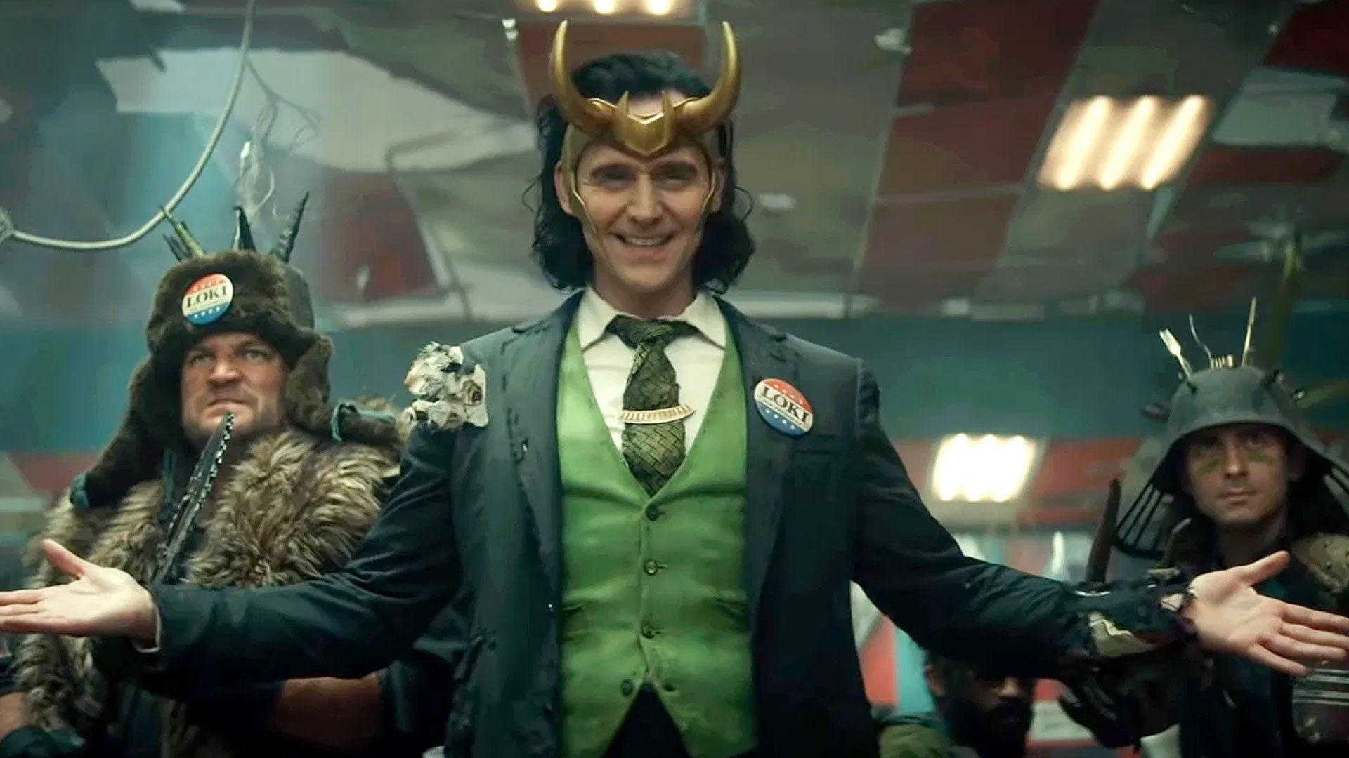 There is no confirmation of Season 2 of the show but Tom is open to continue playing Loki.