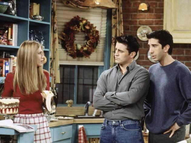 Friends. The One Where Ross Got High