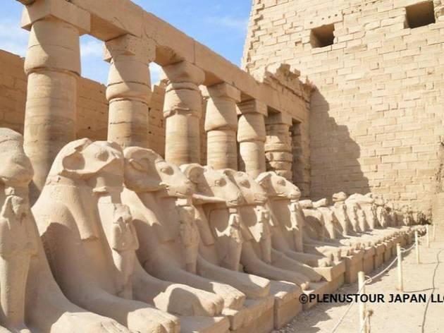 お部屋からTRIP オンラインツアー:エジプト カルナック神殿