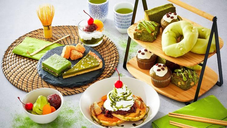 Ikea Japan matcha sweets fair