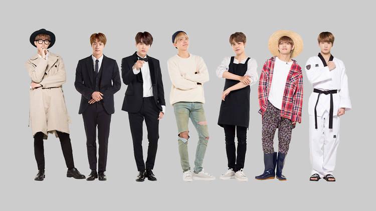 BTS World merchandise