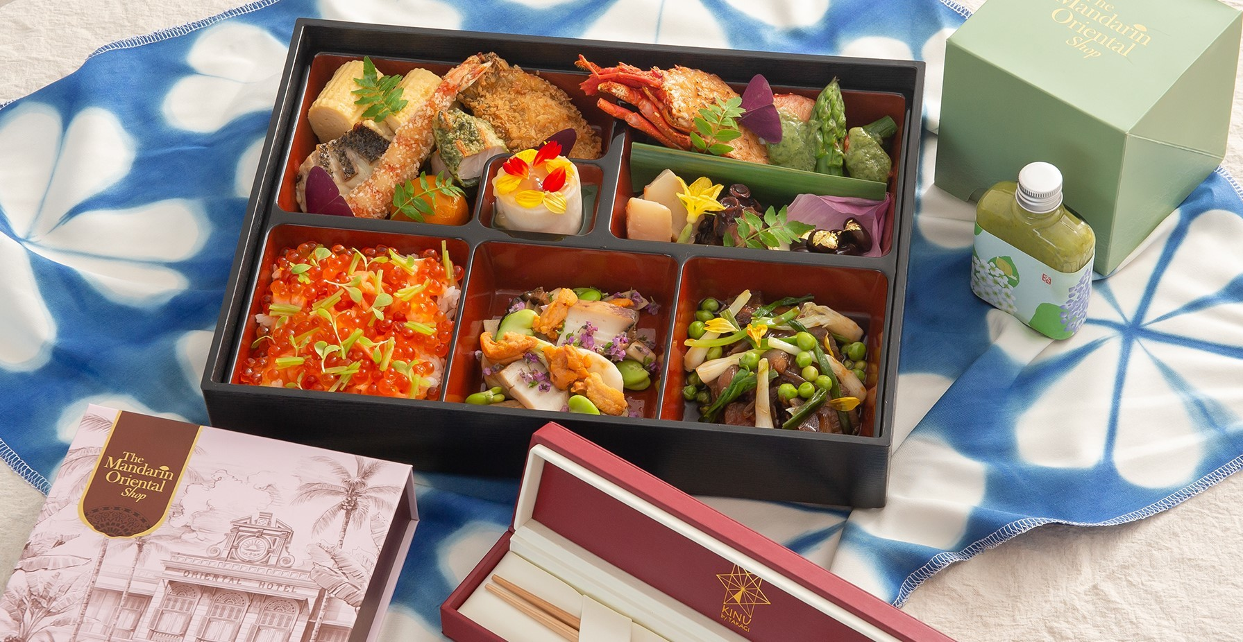 In pictures: Take a look at what could possibly be the fanciest Japanese bento in Bangkok
